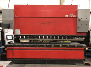 242 Ton X 12 Amada Hfe Hydraulic Press Brake 2011 Ybm 10442