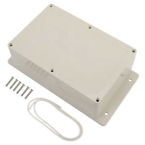 Plastic Junction Box Electric Project Enclosure With Fixed Ear 9 1 X 5 9 X 3 4
