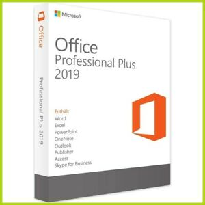 Microsoft office 2019 Professional Plus 32 64 Bit Lifetime License Key