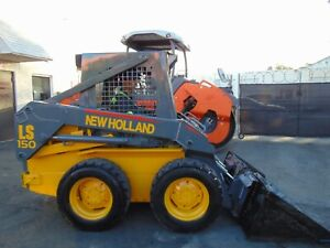New Holland Ls 150 super Boom Skid Wheel Loader