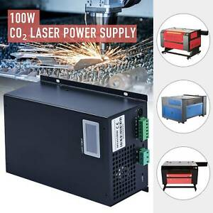 100w Laser Power Supply For 60w 80w 100w Co2 Laser Tube Engraver Cutter Lcd