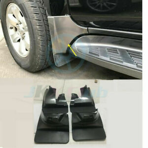 Front Rear Mud Flaps Splash Fender C For Toyota Land Cruiser Prado Fj120 03 2009