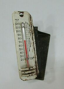 Antique 1920 s Poultry Brooder House Chicken Coop Incubator Thermometer Free S h