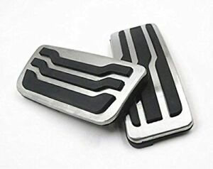 2pcs Car Gas Pedal Covers Brake Pedal Covers Set For Ford F 150 Foot Pedal Pads