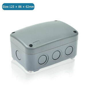 Electrical Junction Box Ip66 Waterproof Abs Project Enclosure 125 86 62mm Us