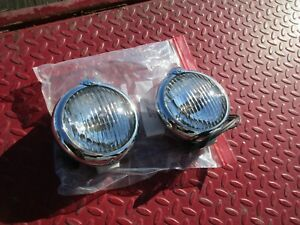 Unity Gm Badged H 1 Fog Lights Hot Street Rat Rod Custom
