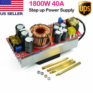 Dc dc 1800w 40a Boost Converter Step Up Power Supply Module Constant Current Us