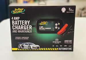 New Battery Tender 4 Amp 6v Or 12v Selectable Battery Charger Free Shipping