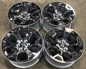 2019 21 Dodge Ram 1500 20 Chrome Factory Oem Wheels Rims 2680 2448