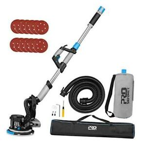Electric Drywall Sander Set With Automatic Vacuum System 6 5a 500 1800rpm