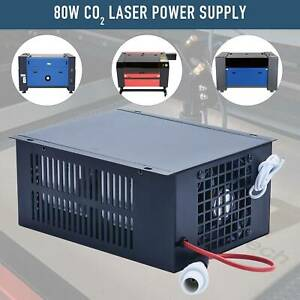 80w Laser Power Supply For 50w 80w Co2 Laser Tube Cutters Engraving Machines
