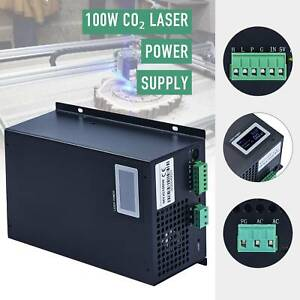 100w Laser Power Supply For 80w 100w Co2 Laser Tube Engravers Cutting Machine