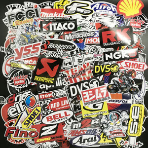 120pcs Jdm Stickers Pack Car Motorcycle Racing Helmet Motocross Vinyl Decals Lot