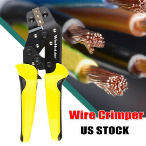 Wire Stripping Crimper Tool 8 Stripper Connectors Electrical Cutting Terminal