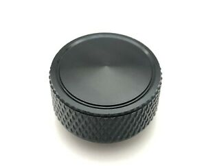 Air Cleaner Wing Nut Knurled 1 4 20 Knob Gmc Chevy Ford Mopar Black Aluminum