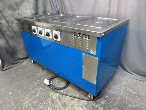 4 well Hot Food Warmer steam Table Piper Products R4hf 60 x30 208v 1ph