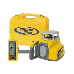 Spectra Precision Laser Automatic Self Leveling Hr300 Receiver Carry Case Ll300n