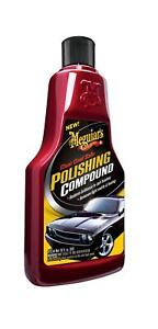 Meguiar s Clear Coat Safe Polishing Compound Remove Light Swirls And