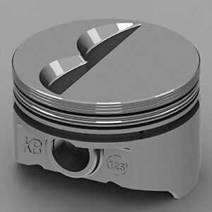 Keith Black Kb125 030 Chevy 400 Hyperutectic Flat Top Pistons 030