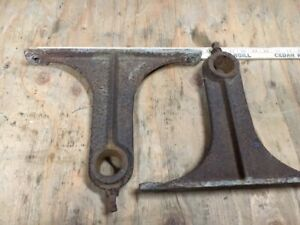 Antique Cast Iron Hit Miss Gas Engine Cart Axle Bolsters Railroad Industrial
