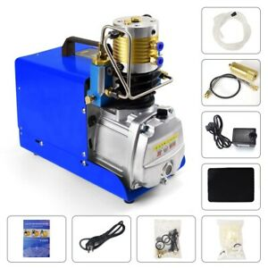 Digital Lcd Auto Stop High Pressure Air Compressor Pcp Air Pump 30mpa 4500psi Us