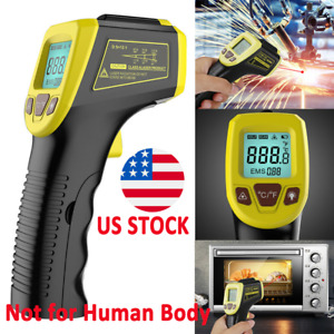 Handheld Digital Infrared Thermometer Temperature Gun Non contact Ir Laser Point