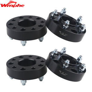 Fit For 2007 2018 Jeep Wrangler Jk 1 5 5x5 Hubcentric Black Wheel Spacers