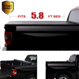 Soft Lock Roll Up Tonneau Cover For 2019 2020 Silverado sierra 1500 5 8 69 9