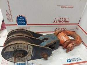Mckissick 2016542 Size 6 double Steel Rope Wire Sheave Ed4u 8226