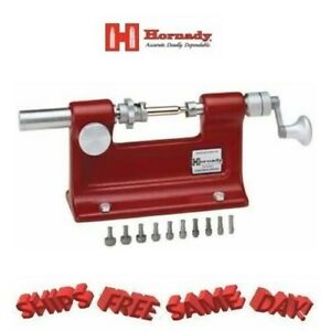 Hornady Cam Lock Case Trimmer Kit Includes 7 Pilots New # 050140 $164.62