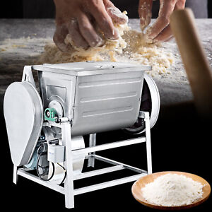 30 Quart Commercial Planetary Mixers Stainless Steel Food Mixer Round Knife