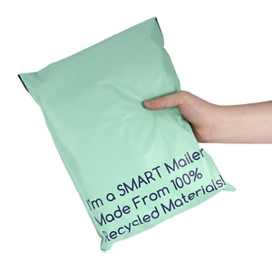 Eco Friendly Green Shipping Envelopes Poly Mailer Size 10 X 13 Smart Mailer