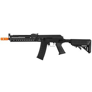 LANCER TACTICAL FULL METAL AK AUTO AEG ELECTRIC AIRSOFT RIFLE GUN w 6mm BB BBs $159.95