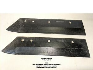 Nos 1 Lot Of 4 Pieces Ih Super Chief sc Plow Shares Part s 463236 463237