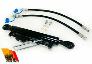 Hydraulic Top Link Cat 2 2 With Locking Block 450 610 Mm With 2 X Hoses