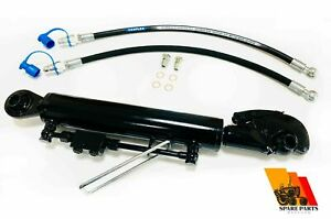 Hydraulic Top Link Cat 2 2 With Hook 160 Mm Stroke Locking Block Hoses 25 4