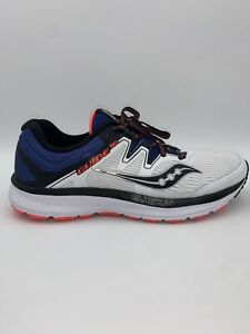 Sauconey Guide Iso Mens Overun S20415 4 White Blue Size 11 Running Shoes