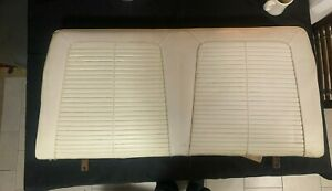 1963 Pontiac Lemans Convertible Front And Rear Seats