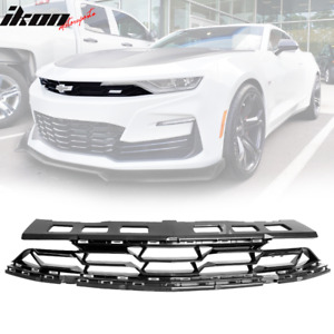 Fits 19 21 Chevy Camaro Ss Style Front Bumper Upper Grille Grill Guard Abs