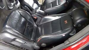 06 09 Vw Gti Mk5 Driver Left Front Seat black Leather