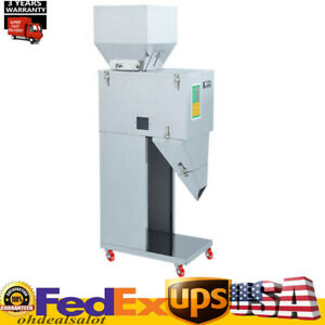110v Automatic Powder Filler Machine Racking Filling Weigh For Tea seed grain Us