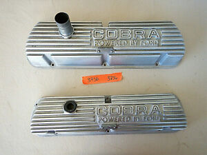 1965 1966 Shelby Gt350 Cobra Valve Covers Buddy Bar Aluminum Mustang Ford 3756