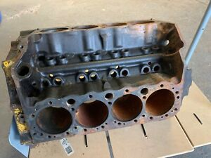 1968 Chevrolet 327 Cu In Engine Block 3914660 No Shipping Local Pick up Only