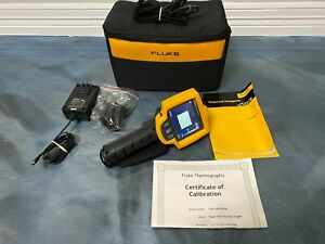 Barely Used Fluke Ti25 Ir Fusion Thermal Imager 9 Hz 160x120 Imaging Camera