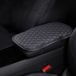 1x Universal Car Armrest Pad Cover Center Console Box Cushion Mat Protector