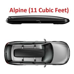 Thule Pulse Rooftop Cargo Box Alpine 11 Cubic Feet Of Additional Packing Space