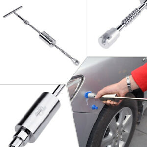 T bar Pdr Dent Puller Tools Paintless Dent Repair Auto Body Kit Slide Hammer Us