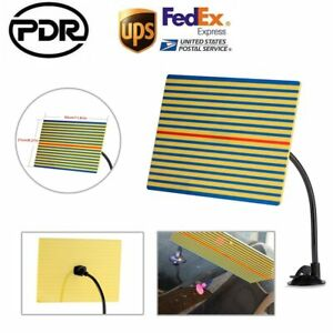 Pdr Tool Line Board Paintless Dent Repair Jobs Suction Arm Reflector Board Light