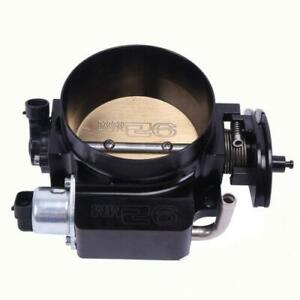 New 92mm Throttle Body For Chevy Lsx Ls Ls1 Ls2 Ls7 Cnc Bolt Cable Black