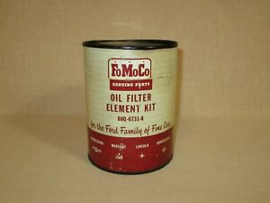 New old Stock 1950 s Fomoco Ford oil Filter Element Kit Never Used Filter